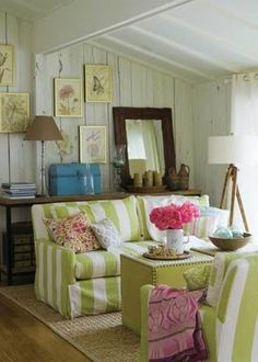 The Anonymous Shopaholic At Home: Beach cottage style