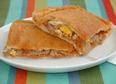 Empanada de pisto y bonito para #Mycook http://www.mycook.es/cocina/receta/empanada-de-pisto-y-bonito