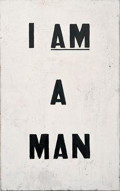 1968 Civil Rights Movement billboard