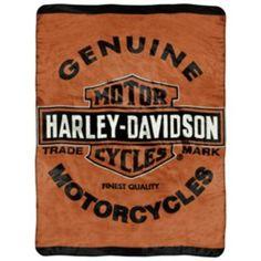 Harley Davidson Genuine Microplush Throw New Harley Davidson 4a4c2e2d3