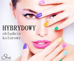 """Manicure nie musi być nudny! Zajrzyjcie do She i zafundujcie sobie prawdziwą, kolorową mieszankę """"paznokciowej"""" radości - bez odpryskiwania!  #manicure #paznokcie #nails"""