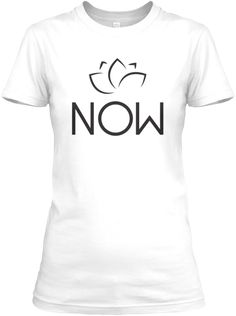 Yoga Shirt   Now White T-Shirt Front