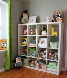 green yellow argyle wall baby girl nursery expedit bookshelf