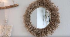 Tuto : créez un miroir bohème avec de la corde - Page 2 sur 2 - Des idées Idee Diy, Decoration, Macrame, Mirror, Crafts, Craft Ideas, Home Decor, Macrame Mirror, Diy Ideas For Home