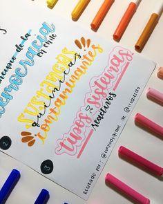 Bullet Journal Titles, Bullet Journal Banner, Journal Fonts, Bullet Journal School, Journaling, Neat Handwriting, Note Doodles, Pretty Notes, Lettering Tutorial