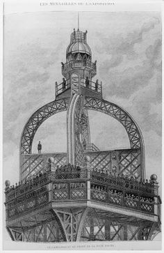 The birth of the Eiffel Tower #Paris