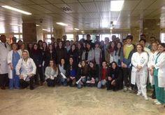 Alumnos del IES Padre Juan de Mariana de Talavera visitan el hospital para conocer profesiones de cara a su futuro - 45600mgzn