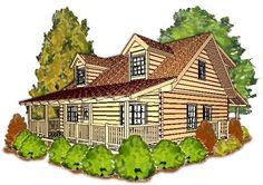 Turkey Lurkey Front Elevation -- Natural Element Homes