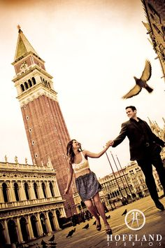 Engagement session in Venice by fellow Houston photog Eric Hoffland