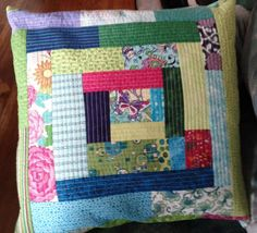 Quilted Patchwork Pillow