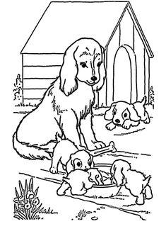 13 Best Ausmalbilder Hunde images | Dog coloring page ...