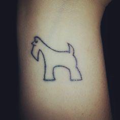 #Tattoo#Schnauzer