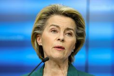 EUROPEAN leaders have moved to rein in EU boss Ursula von der Leyen over fears she'll go rogue and try to ban vaccine exports to Britain. In a joint offensive Belgium, the Netherlands, and Sweden ordered the Brussels chief not to stop jabs bound for the UK unless they agree. Read ourcoronavirus live blogfor the latest news & updates... ReutersNINTCHDBPICT000643655677[/caption] And they are urging her to do a deal with Boris Johnson to head off the threat of a devastating tit-for-tat vaccin Joe Biden, Norway News, Record Day, 10 Millions, The Bloc, Boris Johnson, Rich Man, Young Couples, Ursula