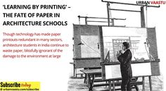 'Learning By Printing' – The Fate Of Paper In #Architecture Schools