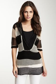 Striped Pull Over   No pattern   Inspiration
