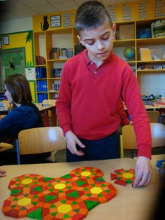 Tessellations in Year 4
