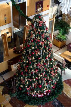 Christmas tree @ Al Maha Arjaan by Rotana, Abu Dhabi