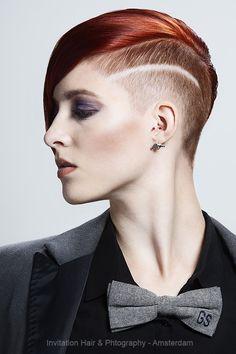 Model: Claudia Schuurmans Salon: Hans Beers Hair Stage - Amsterdam - Hair: Hans Beers - Make up: Melanie Zwienenbarg - Photography: Hans Beers