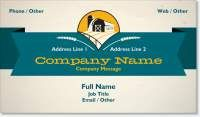 farm livestock breeder Standard Business Cards