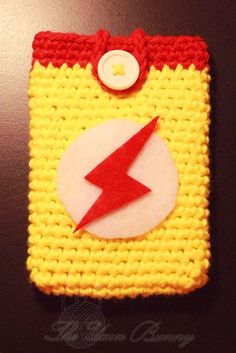 Kid Flash iPhone 4 Cozy by TYBC on Etsy