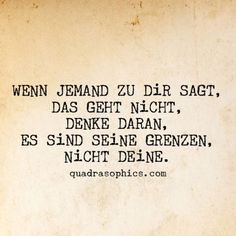 Other & # s Limits . - for-health-quotes - Sprüche Happy Quotes, Life Quotes, German Quotes, Health Quotes, True Words, Motivation Inspiration, Room Inspiration, Positive Vibes, Cool Words