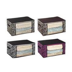 Dorm Bedding Storage Box -4 Animal Prints AvailableDorm Bedding Sto...