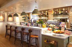 Carluccio's, International. restaurant interior design by designLSM. Photography (c) James French Photography