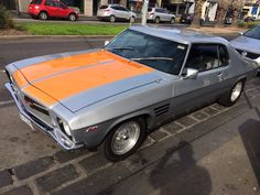HQ GTS Silver with Orange Stripes Holden Kingswood, Hq Holden, Holden Monaro, Holden Australia, Aussie Muscle Cars, Australian Cars, Old School Cars, Hot Cars, Motor Car