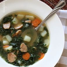 Kale and Potato Soup with Turkey Sausage Recipe
