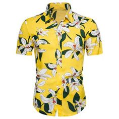 Buy Now! Floral Print Short Sleeve Shirt #shoes #fashions