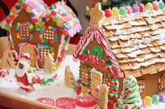 love making gingerbread houses.