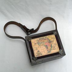 Steampunk Adventurer Map Case