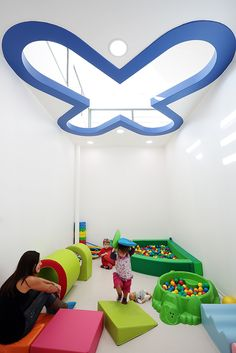This childcare center looks like a big toy box