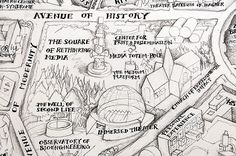 Qiu Zhijie - Map of Total Art [close-up] | da de_buurman