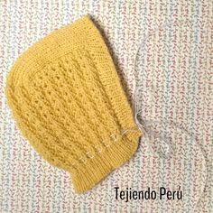Gorro clásico tejido en dos agujas o palitos para bebés!  Vídeo tutorial del paso a paso!