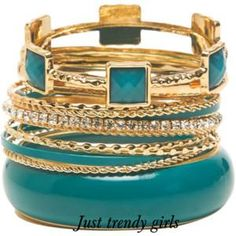 Summer bangles and bracelets | Just Trendy Girls
