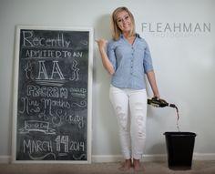 Nine Months Sobriety! pregnancy announcement
