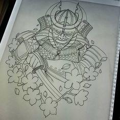 Design for upcoming client #samurai #tattoo #tattoos #samuraitattoo #ink #tattooed #tattooing #tattoodesign #tattooart #tattooworkers #art #design #drawing #sketch #warrior #samuraisword #cherryblossom #Japan #japanesetattoo #japaneseart #newtraditional #uktattoo #uktta #UK #neotradsub #neotraditional #neotrad