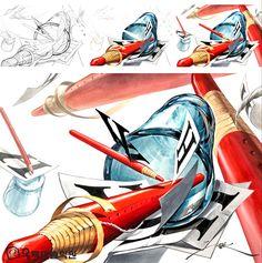 Illustrations, Architecture, Anime, Arquitetura, Illustration, Cartoon Movies, Anime Music, Architecture Design, Animation