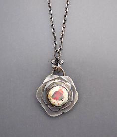 Jelly Opal Bud Necklace