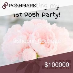 Cohosting my 1st Posh Party I'm so excited to be cohosting my 1st Posh party on Saturday, June 3rd at 4 pm PST  Please help me spread the word and tag your fave Posh PFFs! Follow us and like this post for updates on my lovely cohosts and party theme. I'll be looking for host picks from compliant closets. To be considered, please share from my closet. xo, Nadia  Nadia Rima Other