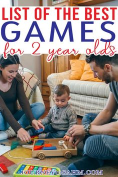 When my daughter turned 2, I was so excited we would finally be able to play some toddler games at home together. My husband and I love board game nights, so I was thrilled to get my daughter involved. Turns out most toddler games are geared for ages 3 and up. Not what I wanted to see. I was determined to find games she could play and not wait another whole year. | @journeytoSAHM #gamesfortoddlers #bestgaesfortoddlers #educationalgamesfortoddlers #toddlers Best Toddler Games, Best Games, Educational Games For Toddlers, Toddler Activities, Parenting Toddlers, Parenting Advice, Best Of Journey, Toddler Sleep Training, 2 Year Olds