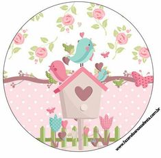 Baby Shawer, Baby Box, Bird Clipart, Bird Party, Paris Images, Bird Theme, Belle Photo, Party Printables, Diy And Crafts