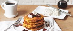 Pumpkin Pancakes With Maple Pecan Compound Butter | Free People Blog