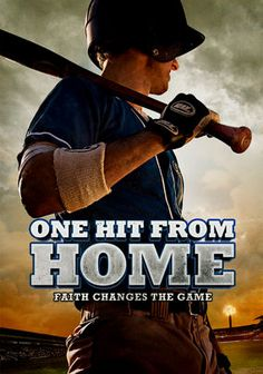 One Hit From Home.....an awesome Christian baseball movie all young ball players should watch!