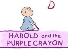Harold and the Purple Crayon Lesson Plan - Art and Language Arts ...