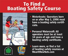 @New York State Parks & Historic Sites promotes its boating safe courses, life jacket wear on Boating Times Long Island #wearit