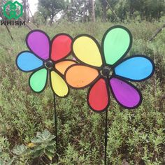 Flight Tracker Windmill Toys Children Kids Garden Decoration Ornament Colorful Outdoors Spinner Making Things Convenient For The People Household Appliances