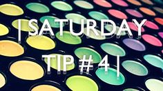 Mind The Two: | SATURDAY TIP # 4 |