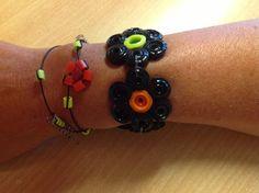 Bracelet made with NABBI Beads and Jumbo beads